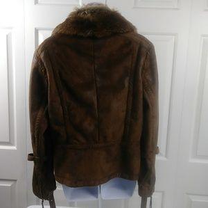 Montana Co. Jackets & Coats - Montana Co. Faux Suede Jacket
